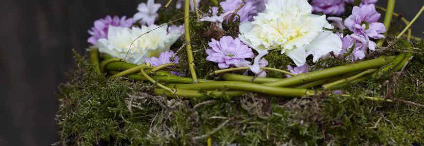 Ulrikke's blomsterdekoration